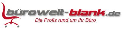 buerowelt-blank.de-Logo
