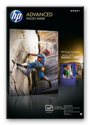 HP ADVANCED PHOTO PAPER Q8008A - 10,0 x 15,0cm - 250g/m² glänzend
