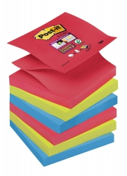 Post-it Super Sticky Z-Notes Haftnotizen farbsortiert