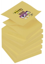 12 Post-it Super Sticky Z-Notes Haftnotizen gelb