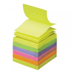 Post-it Z-Notes Haftnotizen farbsortiert